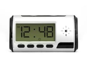 Reloj Despertador Espía Cámara Video Hd Audio Foto Micro