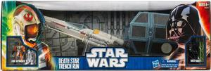 Star Wars Death Star Trench Run X-wing Tie Fighter Nave 3/4