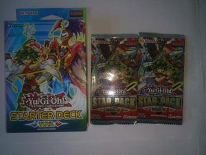 Starter Deck Yuya + 2 Star Packs Arc V Yu Gi Oh