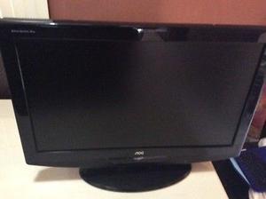 """Tv 26"""" LCD marca AOC con control"""