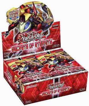 Yu-gi-oh! Secrets Of Eternity Booster Box Envio Gratis