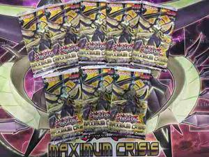 Yugioh Maximum Crisis Sobres X 8