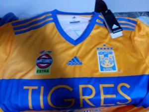 jersey Tigres XL Nueva