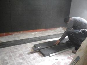 Aislamiento de sonido para techos, muros y pisos