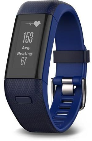 Garmin Vivosmart Hr Regular Fit Azul 5atm Bluetooth