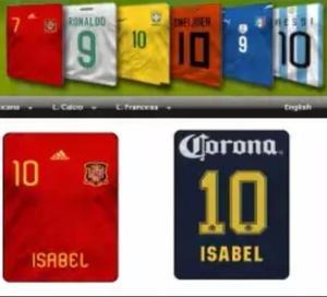 Jersey Personalizado O Jugador Envío Gratis Incluye Jersey