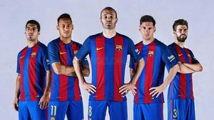 Jersey Playera Barcelona Nueva  Adulto Niño