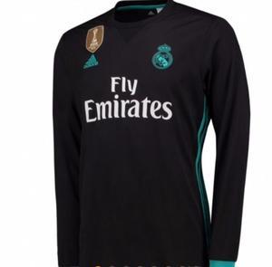 Jersey Real Madrid  Manga Larga