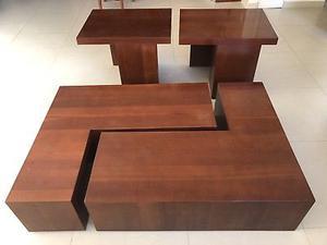 Mesas laterales y de centro