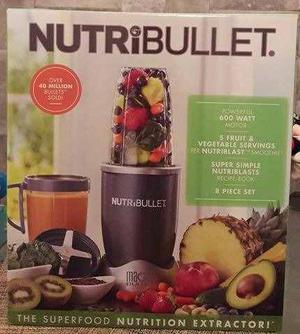Nutri Bullet 600 Nuevo, Original Envio Gratis