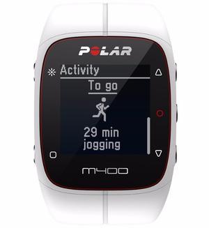 Reloj Gps, Actividad Y Frecuencia C Polar M400 Hr Blanco