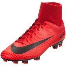 Zapatos De Fútbol Nike Mercurial Victory Fg Rojo Originales