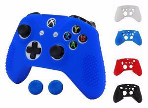Funda Silicona Para Control Xbox One S + 2 Thumbsticks