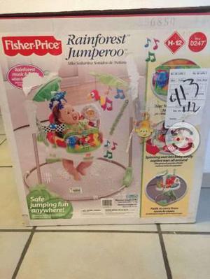 Jumperoo Fisher Price para bebes de animales de la