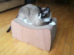 Rascador Para Gatos, Modelo Taburete