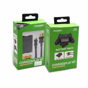 Xbox One Batería Recargable  Mah Con Cable Para Control