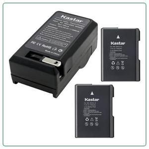 2 Bateria Y 1cargador En-el14 P/ Nikon Df D D D