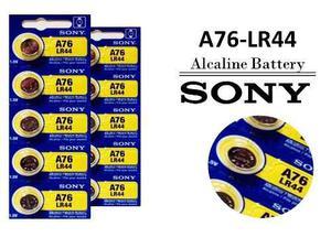 5 Pilas Tipo Boton Sony Alcalina De 1.5v Lr44 / A76 / Ag13