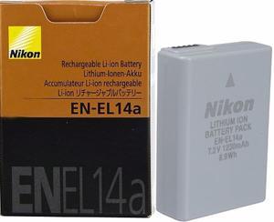 Bateria Nikon En-el14a De  Mah Super Larga Duracion Einm