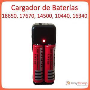 Cargador De Pilas Baterías  Baterías