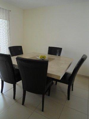 Venta de sillas para comedor vinipiel posot class for Comedores en oferta en monterrey