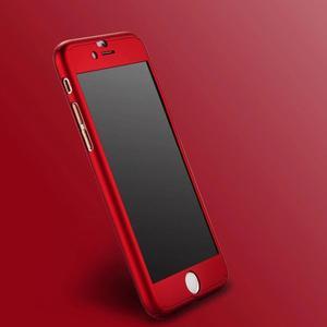 Funda 360 Iphone + Full Cover + Cristal Templado