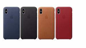 Funda Iphone X 10 Leather Case Pu Apple Envio Gratis