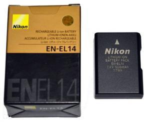 Nueva Bateria Nikon Original En-el14 Para D D D