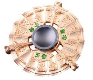 Nuevos Fidget Spinner  Juguete Antiestres De Lujo Metal