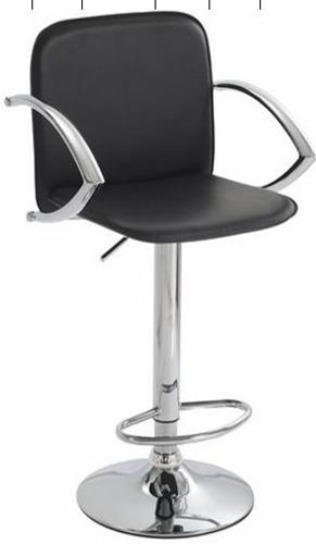 Banco-silla Altura Auto Ajustable Tapiz En Vinipiel Yf-205