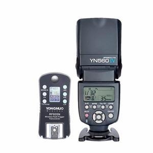 Kit Flash Yn560 Iv Con Disparador Rf605 Para Nikon