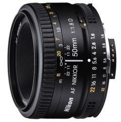 Lente Profesional Nikon 50mm Af Nikkor F/1.8d Fx