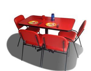Mesa Para 6 Personas Restaurante Comedor Hogar Bar
