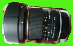 Ojo De Pez 8mm F3.5 Marca Kelda Mejor Que Rokinon P/canon