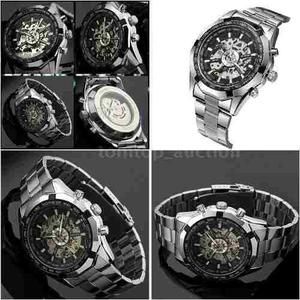 Reloj Automatico Winners Skeleton Sport. Regalo En Compra