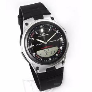 Reloj Casio Aw80 Caucho - Sumergible - 100% Original Cfmx -
