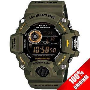 Reloj Casio G Shock Gw  Verde Altímetro Barómetro