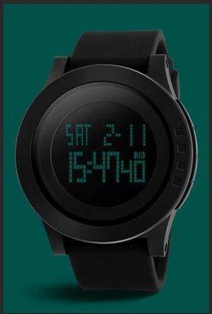 Reloj Quarzo Skmei  Negro Deportivo Sumergible