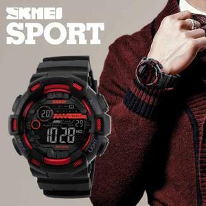 Skmei  Reloj Hombre Tipo Militar Sport Navy