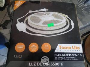 Tira de led alto brillo uso exterior interior luz