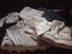 Bolsa con ropa maternidad
