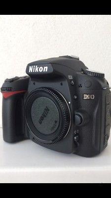 Cámara Nikon Mod. D90 + Lente  mm. De 12.3 mpx.