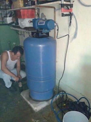 Hidroneumáticos, Bombas de agua