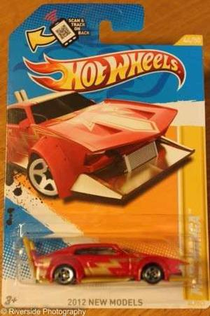 Hot Wheels Mad Manga
