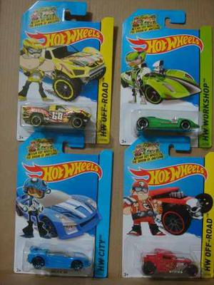 Hot Wheels  Team Hot Wheels 4 Autos Twin Mill Bone Baja