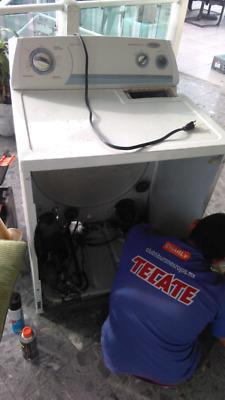 Reparacion, Mantenimiento de Lavadoras y Secadoras