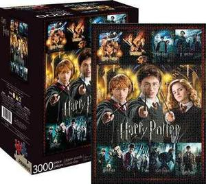 Rompecabezas Collage Harry Potter  Piezas Marca Aquarius