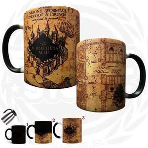 Taza Mágica Mapa Merodeador Harry Potter