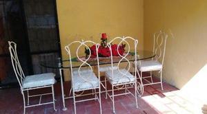 Comedor de Hierro Forjado y Credenza. GRAN OPORTUNIDAD.