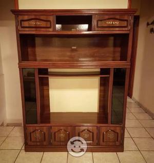 Mueble para Tv en pino con mdf